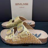 Nouvelle Mule @melineshoes - du 36 au 41 👣 - 🏷 90,00 € - CLICK & COLLECT disponible ou LIVRAISON GRATUITE 🚚 - 📲 https://www.baskets-granville.fr/div-divers/633-10265-cavleopard.html#/27-std_28_a_48_fr-36/176-couleur-dore